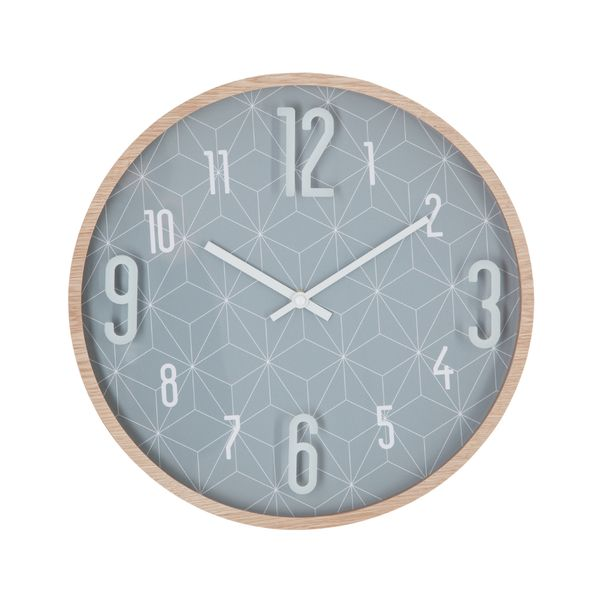 Reloj-De-Pared-Beutiful-Day-33Cm-Gris
