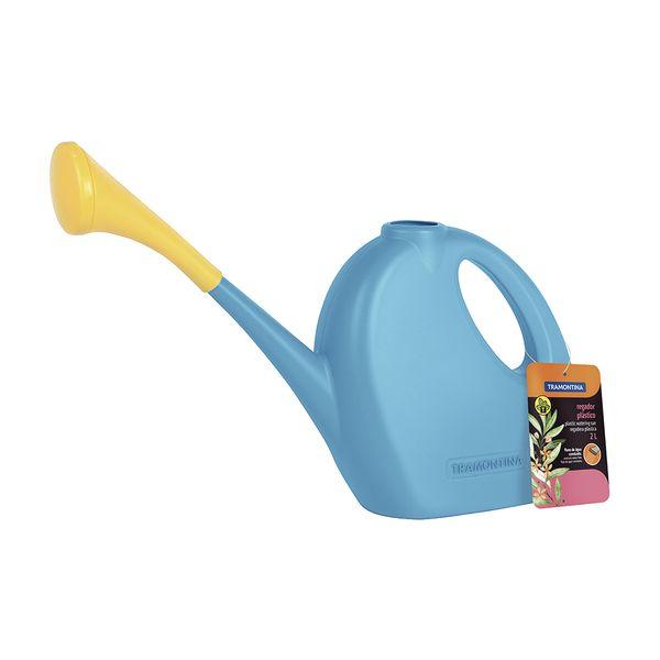Regadera-Jardin-Plastica-Azul