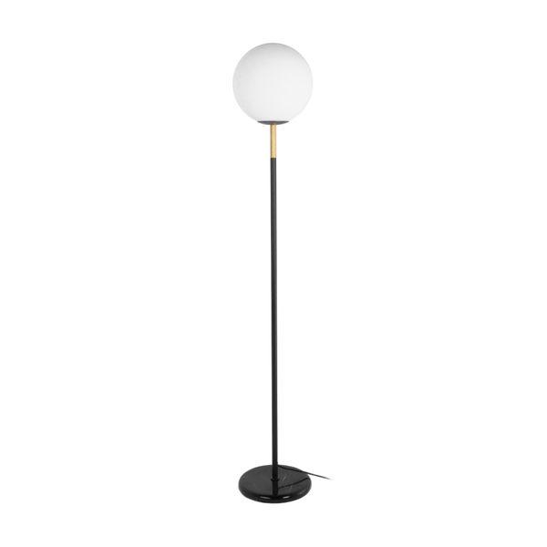 Lampara-De-Piso-Sphere-Blan-Negro