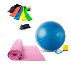 Kit-Gimnasio-Colchoneta-Balon-Bandas-Elasticas-Surtido