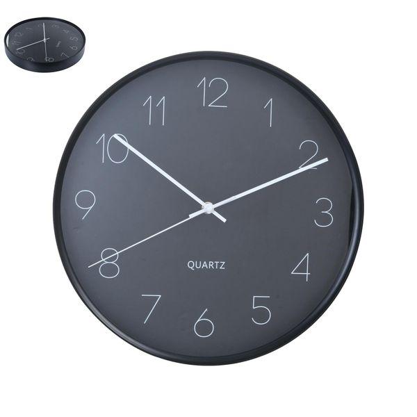 Reloj-De-Pared-Lett-Diam-35.7Cm-Negro