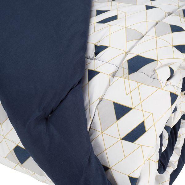 Edredon-Abstract-160-230Cm-Sencillo-Azul-Oscuro