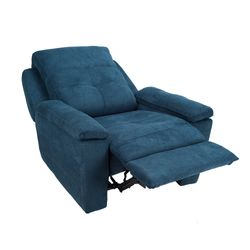 Poltrona-Reclinable-Manual-Glenn-Azul