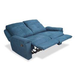 Sofa-2P-Reclinable-Manual-Glenn-Azul