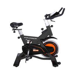 Bicicleta-De-Spinning-Evo-Work-Acero-Negro-Gris