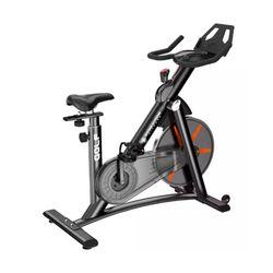 Bicicleta-De-Spinning-Evo-Golf-Acero-Negro-Gris