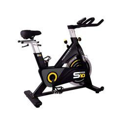 Bicicleta-De-Spinning-Evo-S10-Acero-Negro-Gris