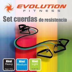 Set-Cuerdas-De-Resistencia-Evolution-Varios