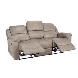 Sofa-3P-Reclinable-Nantes-Taupe