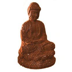 Figura-Decorativa-Grand-Buddha-25-23-15Cm-Carton-Cobre