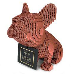 Figura-Decorativa-Little-French-Bulldog-20-12-22Cm-Carton-Or