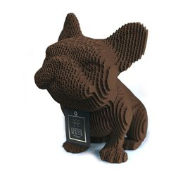 Figura-Decorativa-French-Bulldog-20-12-22Cm-Carton-Cafe-O