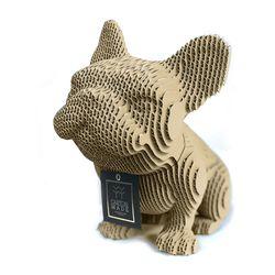 Figura-Decorativa-French-Bulldog-20-12-22Cm-Carton-Blanco
