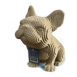 Figura-Decorativa-French-Bulldog-20-12-22Cm-Carton-Cafe-C
