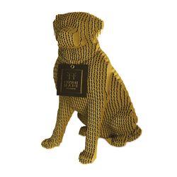 Figura-Decorativa-Labrador-30-19-27Cm-Dorado