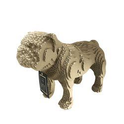 Figura-Decorativa-English-Bulldog-20-12-22Cm-Carton-Cafe-C