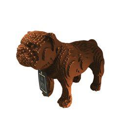 Figura-Decorativa-English-Bulldog-20-12-22Cm-Carton-Cobre