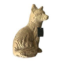 Figura-Decorativa-Fox-35-20-25Cm-Carton-Dorado