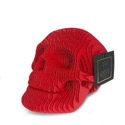 Figura-Decorativa-Skull-16-16-22Cm-Carton-Rojo