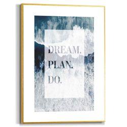 Cuadro-Dream-Plan-Do-30-40Cm-