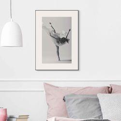 Cuadro-Ballet-Silhouette-50-70Cm-