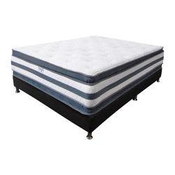 Colchon-Doble-Pillow-Extra-Doble-190-160-36Cm-Gris-Blanco