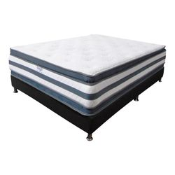 Combo-Colchon-Doble-Pillow-King-200-200-36C-Base-Cama-Gris-Blanco