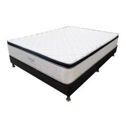 Colchon-One-Pillow-Semi-Doble-190-120-28Cm-Gris-Blanco