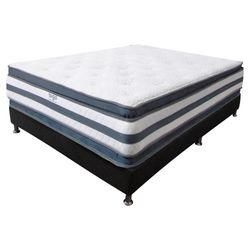 Colchon-Doble-Pillow-Semi-Doble-190-120-36Cm-Gris-Blanco
