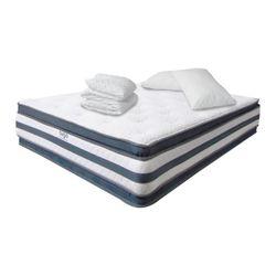 Combo-Colchon-Doble-Pillow-Semi-Doble-190-120-36Cm-Prot-Almo-Gris-Blanco