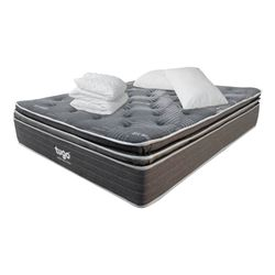 Combo-Colchon-Premium-Tugo-Semi-Doble-190-120-37Cm-Prot-Almo-Gris