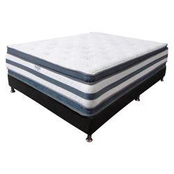 Colchon-Doble-Pillow-Sencillo-190-100-36Cm-Gris-Blanco