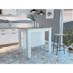 Mesa-Auxiliar-De-Cocina-Pozo-90-103-70Cm-Blanco-Rovere