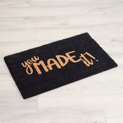 Tapete-Entrada-You-Made-It-Fibra-Coco-Negro