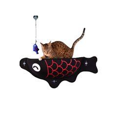 Hamaca-Para-Gatos-Acolchada-Para-Ventana-Pez-Negro