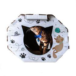 Rascador-Casa-Encanto-Para-Gato