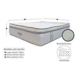 Colchon-Elegance-Extradoble-160-190Cm