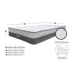Colchon-Classic-Semidoble-120-190Cm