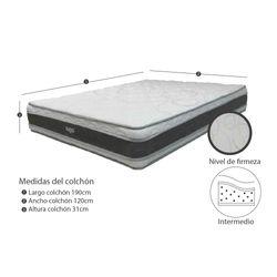 Colchon-Comfort-Semidoble-120-190Cm