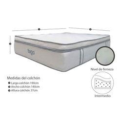 Colchon-Elegance-Doble-140-190Cm