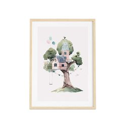 Cuadro-Treehouse-30-40Cm