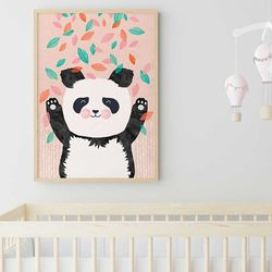 Cuadro-Panda-Boho-Art-30-40Cm