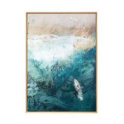 Cuadro-Beach-Canvas-100-80-2Cm-Colores-Varios
