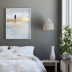 Cuadro-Bather-Canvas-100-80-2Cm-Colores-Varios