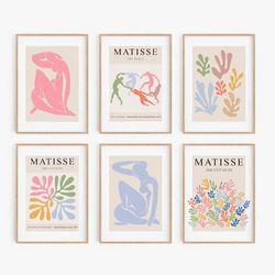 Set-6-Cuadros-Matisse-40-30-2Cm-Colores-Varios