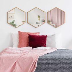 Set-3-Espejos-Hexagonales-40-35-2Cm-Natural