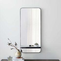 Espejo-Con-Repisa-100-40-10Cm-Negro