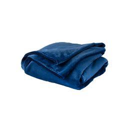 Manta-Flannel-Millare-Azul
