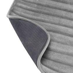Tapete-Baño-3D-Stripes-43-61Cm-Gris-Oscuro