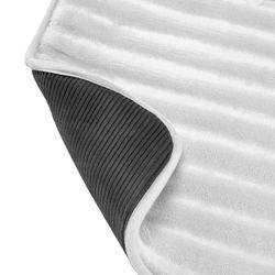 Tapete-Baño-3D-Stripes-43-61Cm-Gris-Claro